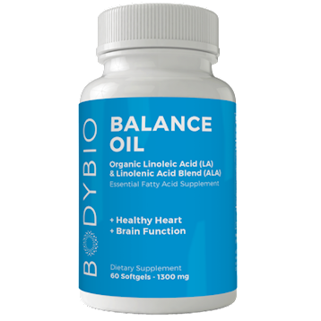 BodyBio Balance Oil 180 softgels BodyBio SP102