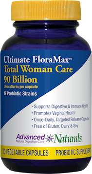 Ultimate FloraMax Total Woman 30 vcaps Advanced Naturals A16941