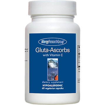 Gluta-Ascorbs 60 caps Allergy Research Group GLUTA