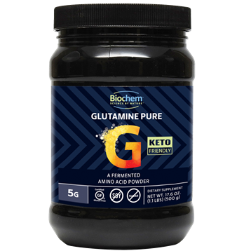 Biochem Glutamine Pure Powder 100 serv Biochem B22107