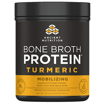 Bone Broth Protein Turmeric 20 serv Ancient Nutrition DA3100