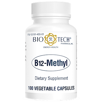 B12 Methyl 100 vegcaps Bio-Tech B96704